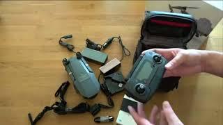 Buy DJI Mavic Pro OcuSync Transmission FPV With 3Axis Gimbal 4K Camera Unboxing