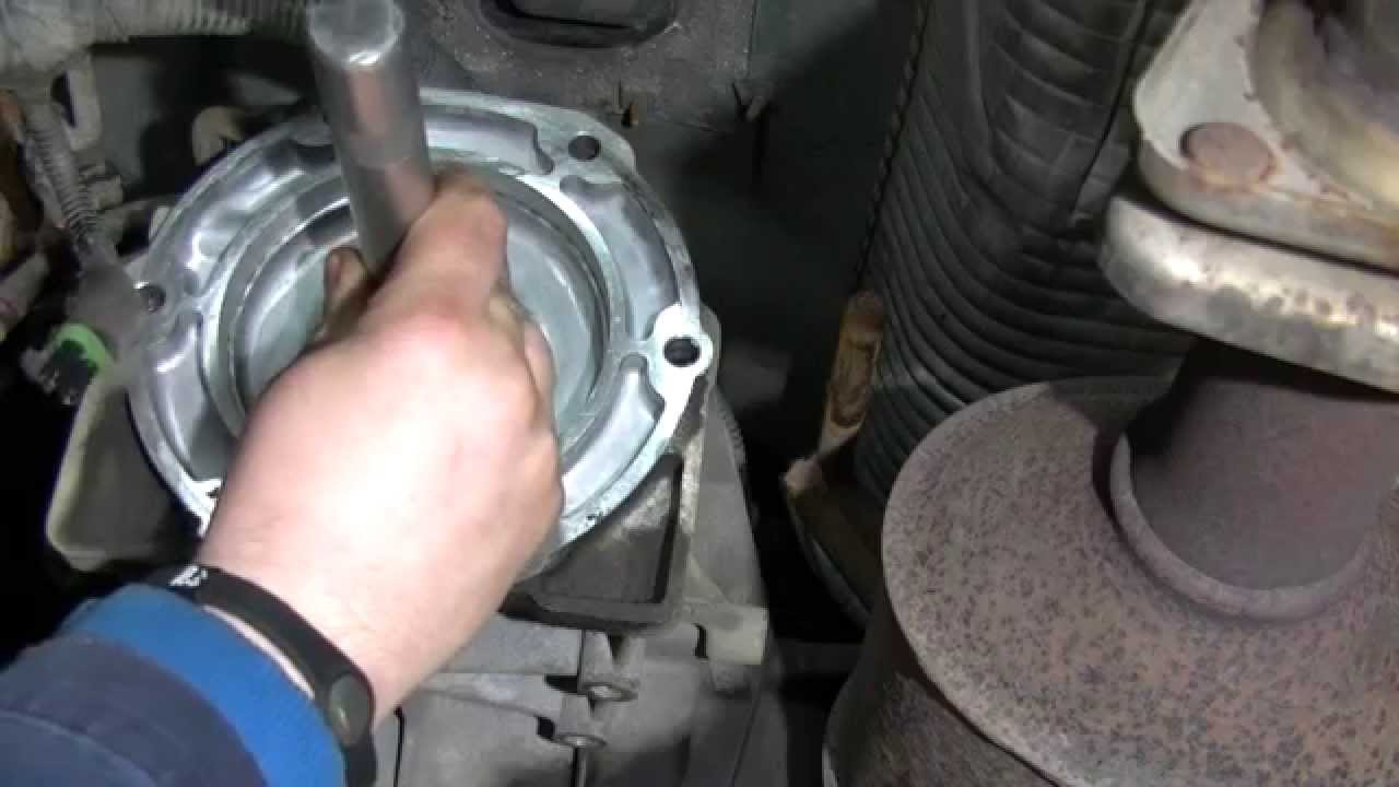 Transmission Output Seal Replacement