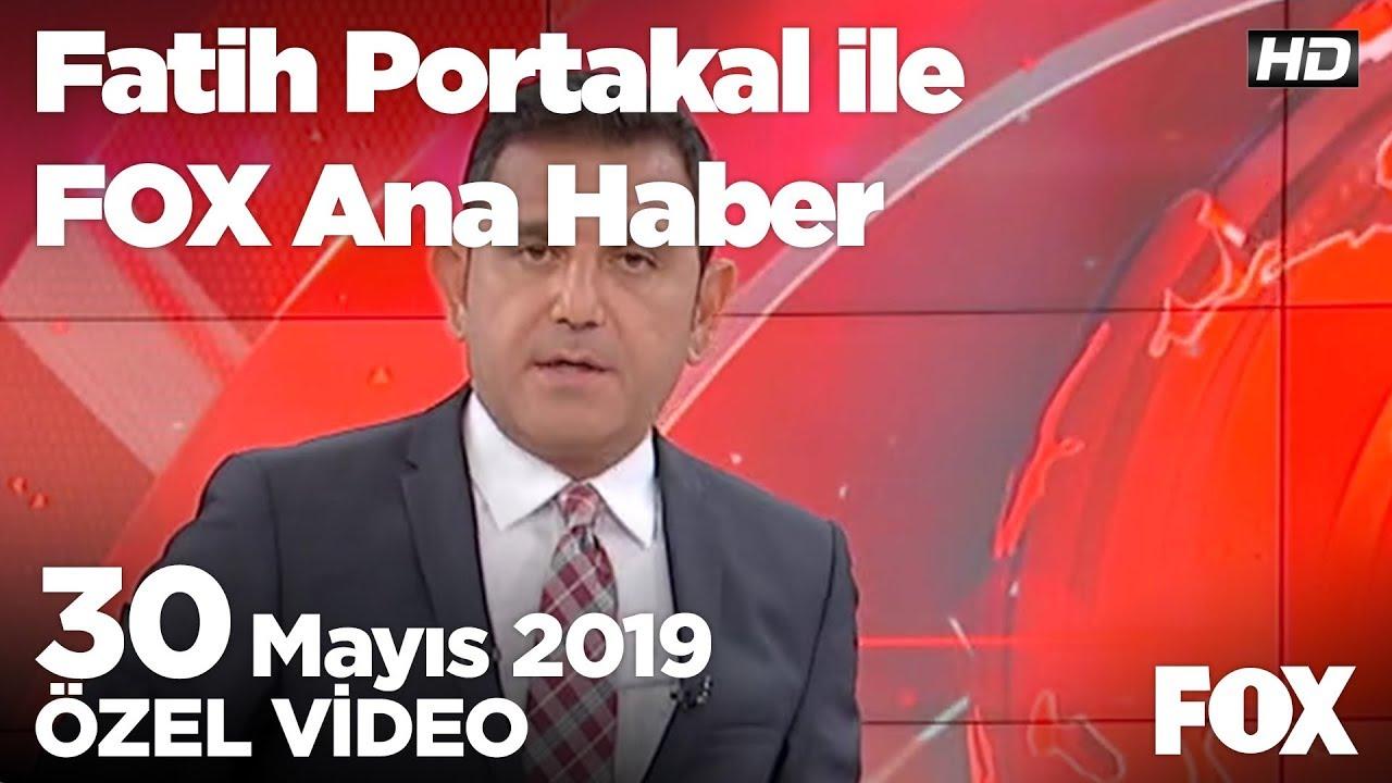 Fox Haber İzle, İmamoğlu: Allah biliyor içim rahat! 30 Mayıs 2019 Fatih Portakal ile FOX Ana Haber