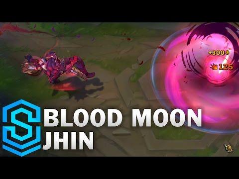 Blood Moon Jhin Skin Spotlight - Pre-Release - League of Legends