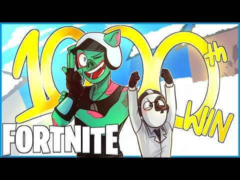 MY 1000th DUOS WIN in Fortnite: Battle Royale! (Fortnite Funny Moments & Fails)