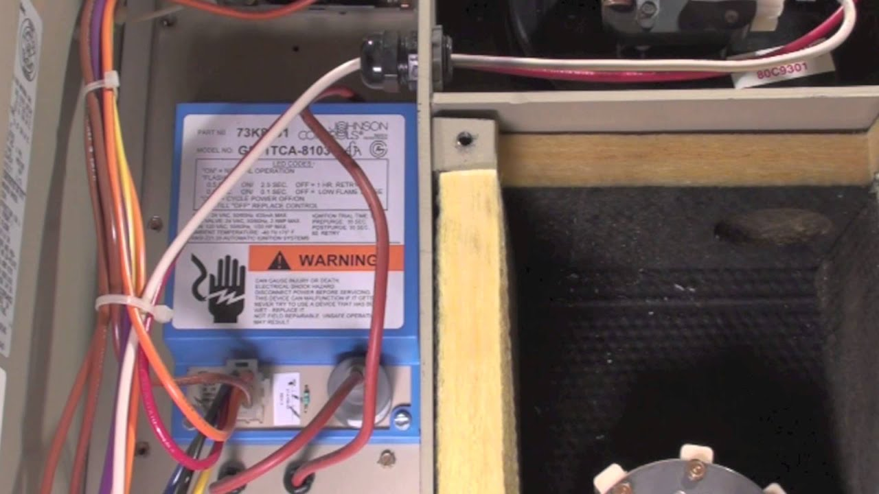 How the Lennox pulse gas furnace sequences - YouTube