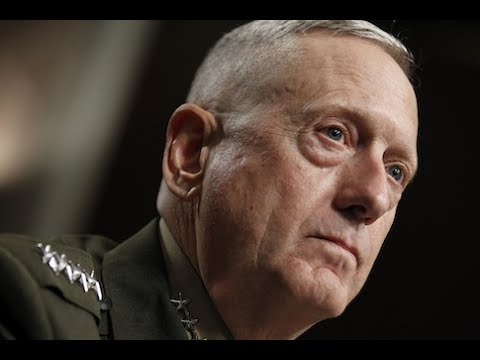 WATCH: Defense Secretary James Mad Dog Mattis testifies to t