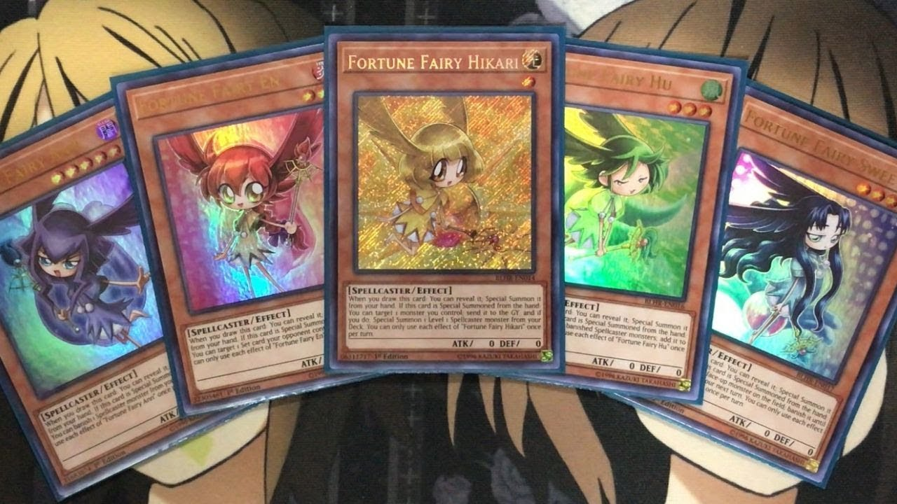 My Fortune Fairy Yugioh Deck Profile for July 2019