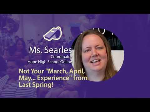Ms. Searles - Coordinator // Hope High School Online