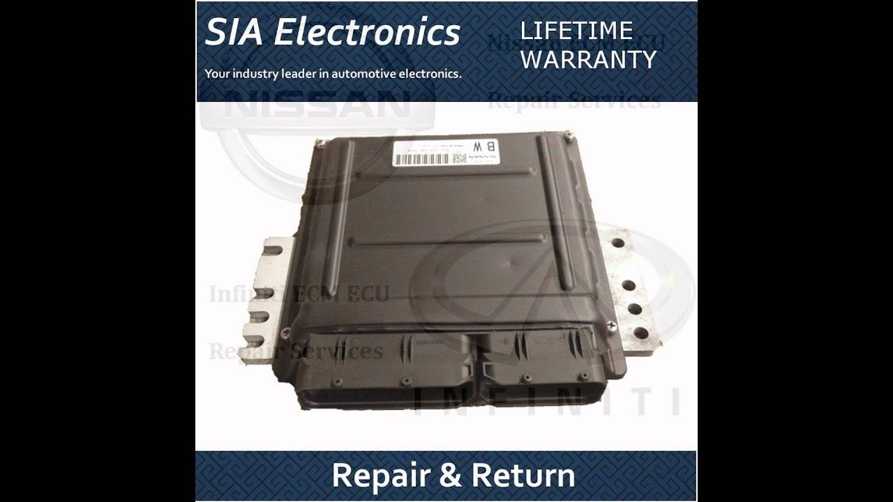 Nissan Xterra ECM ECU PCM Engine Computer Repair /& Return For Nissan ECM Repair