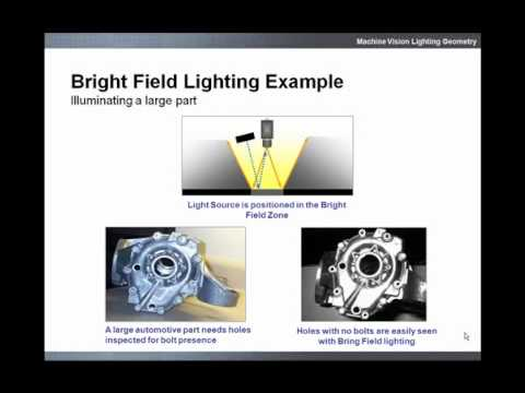 Machine Vision Lighting Geometry Training Video