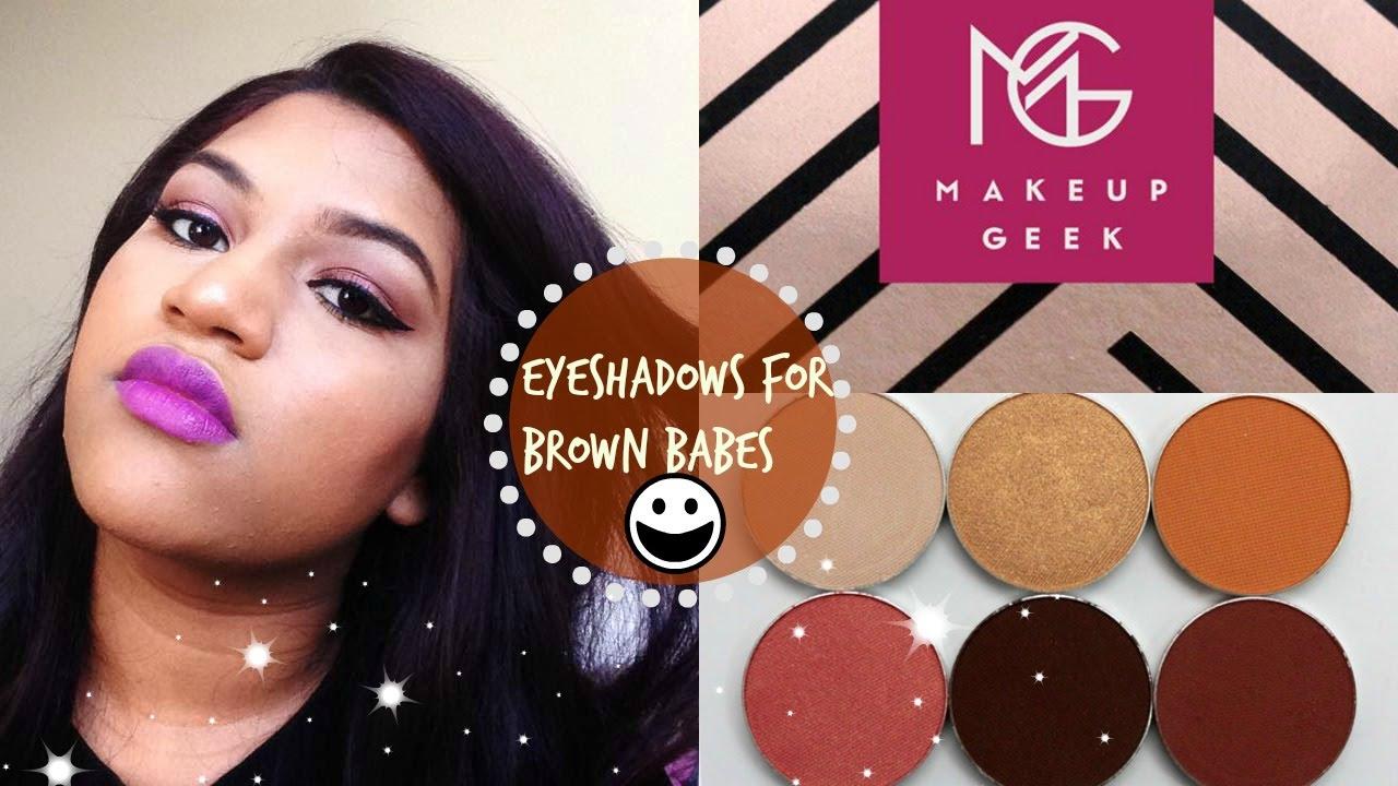 Top Eyeshadows For Brown Indian Dark Skin Mac Nc45 Beauty Blogger You