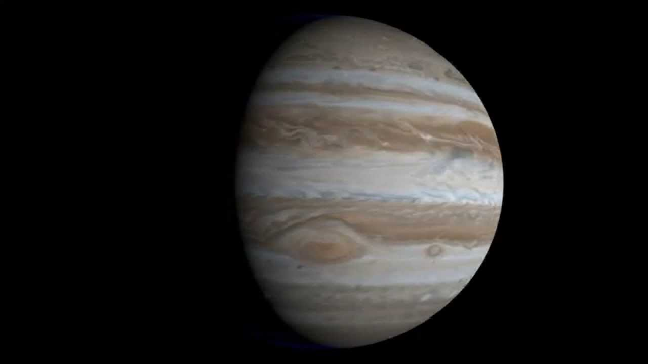 Rotation of Jupiter 3D model YouTube