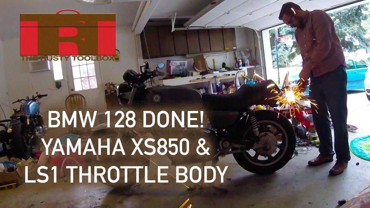 BMW 128i Bumper Finished | Yamaha XS850 Project | New LS1 Throttle Body |  Rusty Toolbox