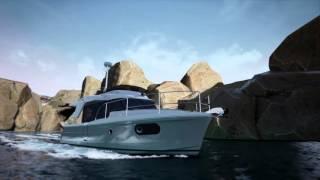 3D Swift Trawler 30 By Beneteau