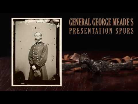General George Meade's Presentation Spurs