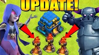 Clash of clans new update 3 inferno and tornado trap gameplay