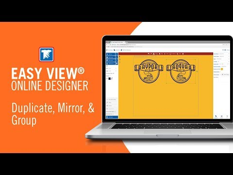 Duplicate, Mirror, & Group Your Art in Easy View®