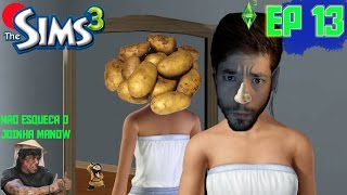 """The Sims 3 - Temporada 1 Episódio 13 - Série ao Vivo - """"Gravida em Fuga"""""""