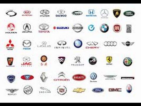 Famous Popular Cars Brands Logos Origins Youtube