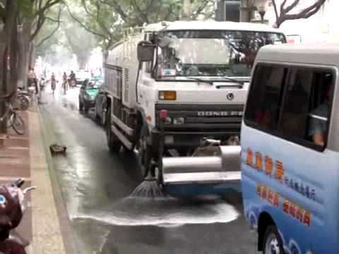 X STREET CLEANERS IN CHINA
