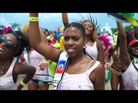 Houston CaribFest 2017-Parade of the Bands, Tom Bass Park Footage, Part 1 of 3