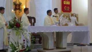 GX.NVHB: Thánh Lễ 5 Năm Linh Mục Của Cha Phipphê Huỳnh Ngọc Tuấn