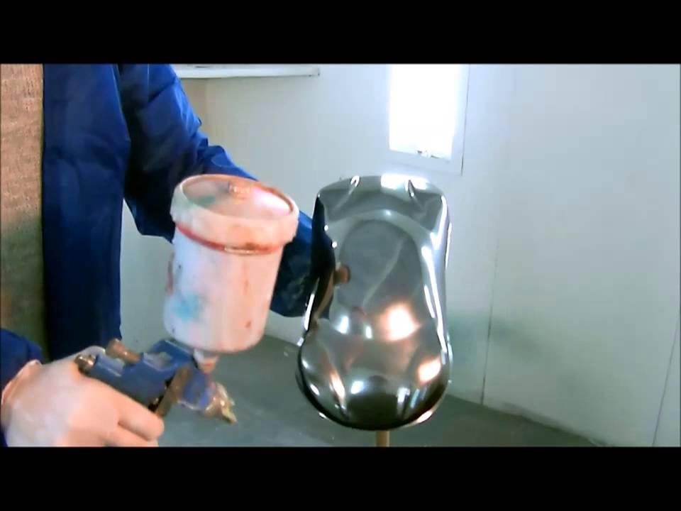 Pintura cromo youtube - Pinturas para metal ...