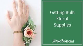 Obtain Fresh Wholesale Flowers & Supplies for Unique Floral Arrangements