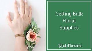 Obtain Fresh Wholesale Flowers & Supplies for Unique Floral Arrangements
