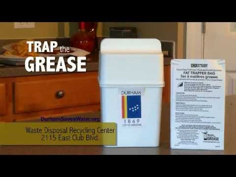 Dispose Of Cooking Grease Properly Youtube