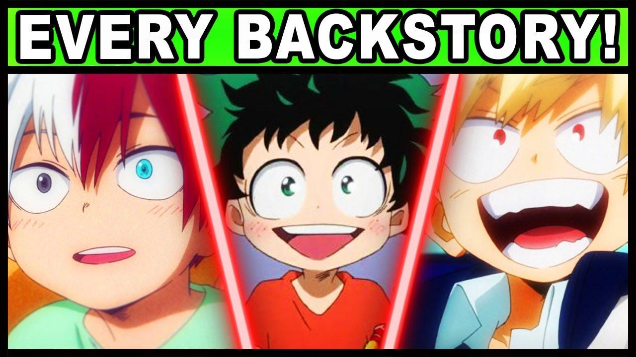 Every Class 1-A Student's Backstory Explained! | My Hero Academia / Boku no Hero 1A Backstories