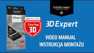 3D Expert - Curved Screen Protector - Video Manual
