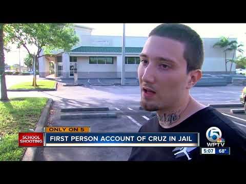 Fellow inmate of Nikolas Cruz says Parkland shooting suspect was 'lost in his mind'
