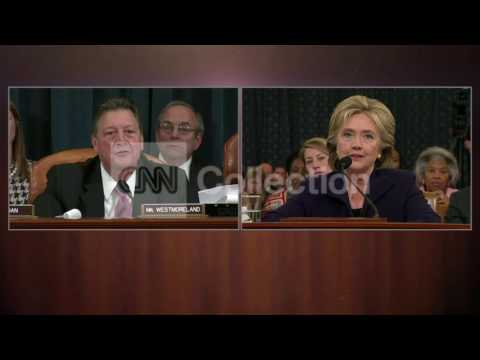 CLINTON-NO ONE EVER SAID TO SHUT DOWN BENGHAZI