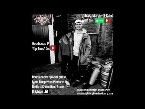Boudicca P with Matt Murphy on Platform B Radio Brighton