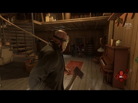 FRIDAY THE 13th: THE GAME - EL ASESINO! CUCUUUUUU!
