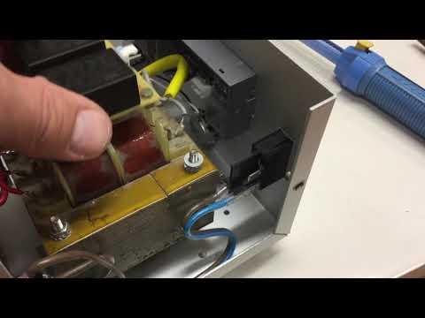 Vintage Lab Power Supply Rebuild (4) – Rewiring the Mains Voltage Side