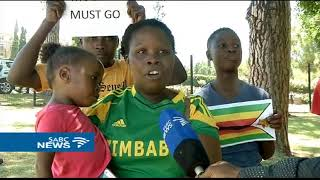 Zimbabweans living in South Africa also join anti Mugabe protest thumbnail