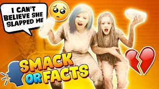 SMACK OR FACTS CHALLENGE WITH MY MOM (BAD IDEA)