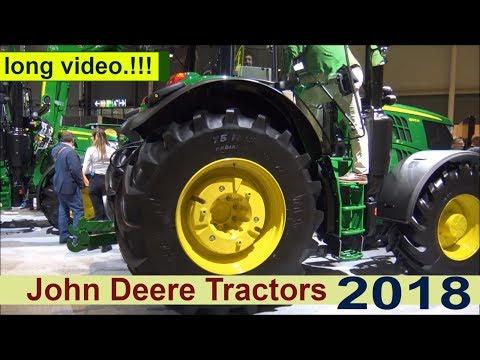 The John Deere 2018 Tractors