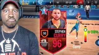 CURRY WITH 99 OVERALL 3 POINT SHOT RATING! NBA Live Mobile 16 Gameplay Ep. 120