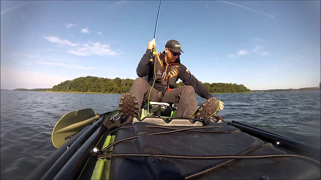 Pike fly fishing jackson big rig kayak youtube for Fly fishing kayak