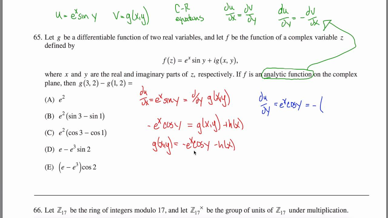 GRE Math: Study Guide & Test Prep - Practice Test ...