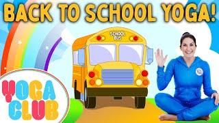Back To School Kids Yoga! ???? Yoga Club (Week 57) | Cosmic Kids Yoga