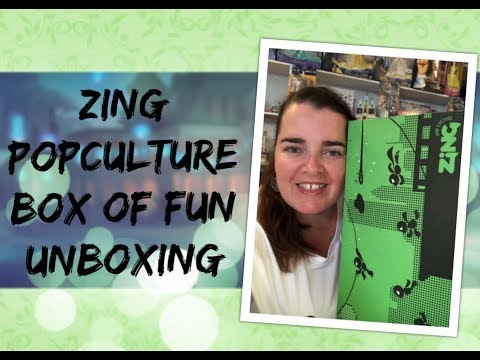 Zing Popculture $100 Box Of Fun Unboxing #EBGames #MysteryBox