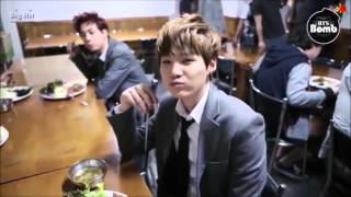 [THEN VS NOW] Suga Eating Ssam