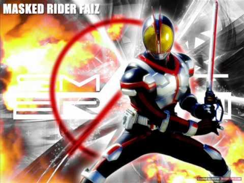 Kamen Rider Wallpaper Hd Kamen Rider Faiz Justifaiz Instrumental Youtube