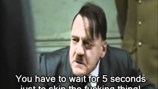 Hitler Rants About Video Ads