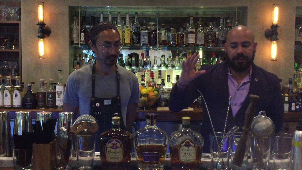 The Franklin Room Whiskey of the Week: Crown Royal - YouTube