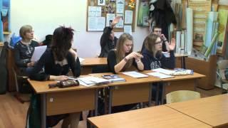 Открытый урок английского языка в Школе Ретро, 9 класс, 2012-2013 уч. год