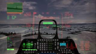 Ace Combat 6: Ace of Aces Mission 03 [F-22A -Mobius- / CFA-44 -prototype-] (1/2)