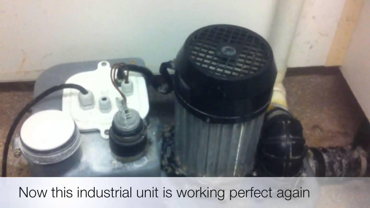 emergency saniplus problems repairs saniflo plumbers
