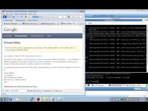 Web Server Admin: Lecture 8 Reverse and Forward Proxy with Apache CO246